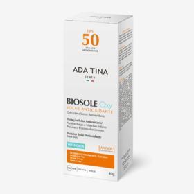 Protetor Solar Antipoluição Ada Tina - Biosole Oxy FPS 50 - 40ml
