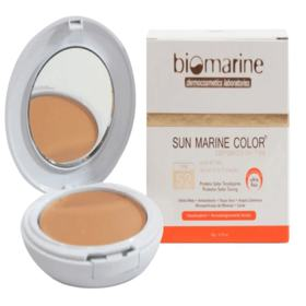 Sun Marine Color Compacto FPS52 Biomarine - Pó Compacto - Natural