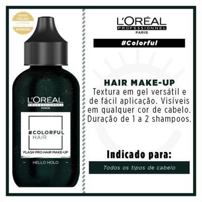 Imagem 3 do produto Maquiagem para Cabelo L'Oréal Professionnel - Colorful Hair FlashPro - Hello Hollo