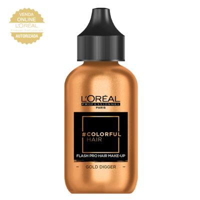 Imagem 1 do produto Maquiagem para Cabelo L'Oréal Professionnel - Colorful Hair FlashPro - Gold Digger