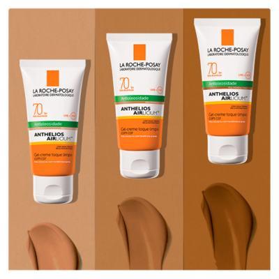 Imagem 13 do produto Protetor Solar Facial com Cor La Roche-Posay - Anthelios Airlicium Fps70 - Morena Mais