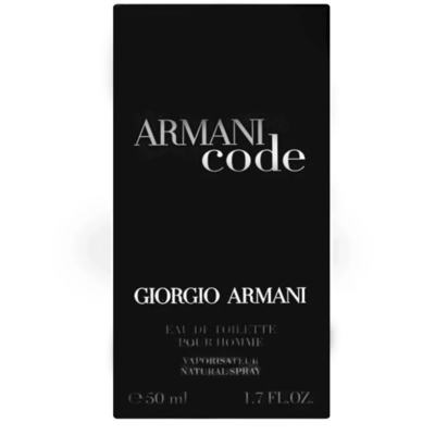 Imagem 3 do produto Armani Code Giorgio Armani - Perfume Masculino - Eau de Toilette - 50ml
