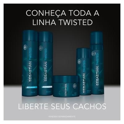 Imagem 5 do produto Máscara de Tratamento Curl Elastic Treatment - Sebastian Twisted - 150ml