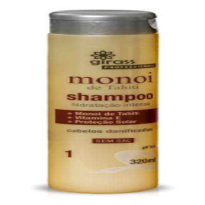 SHAMPOO GIRASS MONOI DE TAHITI-320ML - 131
