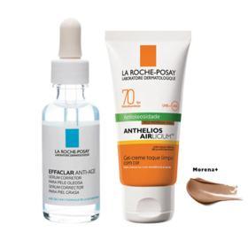 La Roche Posay Effaclar + Anthelios Kit - Sérum Facial + Protetor Solar Morena + - Kit