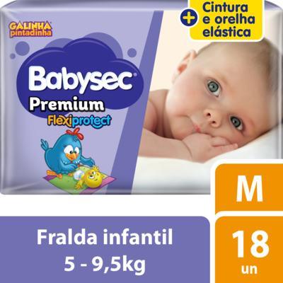 Imagem 1 do produto Fralda Babysec Galinha Pintadinha Premium - M