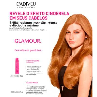 Imagem 3 do produto Cadiveu Glamour Kit - Shampoo + Máscara Capilar - Kit