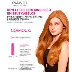 Cadiveu Glamour Kit - Shampoo + Máscara Capilar - Kit