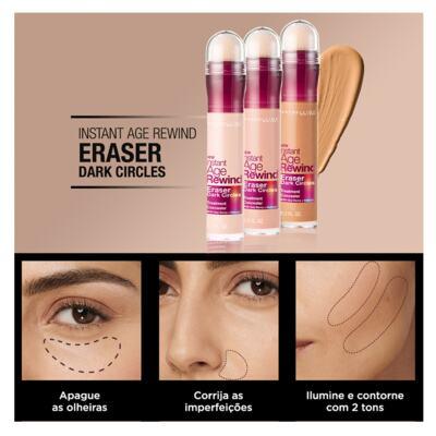 Imagem 5 do produto Corretivo para área dos Olhos Maybelline Instant Age Eraser - Sand