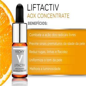 Sérum Antioxidante e Antissinais Vichy - Liftactiv AOX Concentrate | 10ml