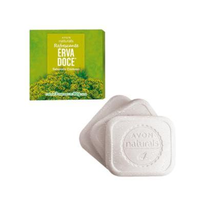 Sabonete Cremoso Naturals Erva Doce - 3 x 80 g