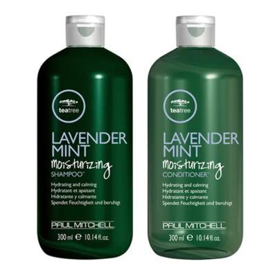 Imagem 1 do produto Kit Shampoo + Condicionador Paul Mitchell Tea Tree Lavender Mint Moisturizing - Kit