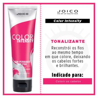Imagem 4 do produto Coloração Joico Vero K-Pak Color Intensity - Hot Pink