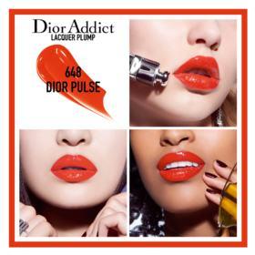 Batom Líquido Dior - Addict Lacquer Plump - 648 Dior Pulse