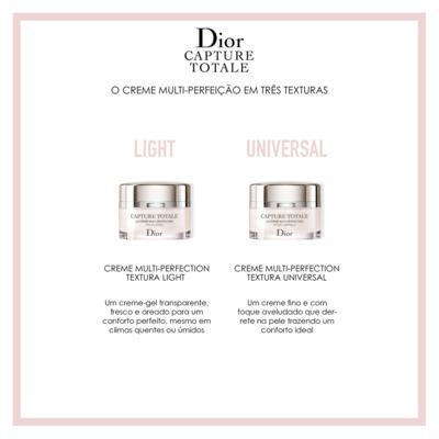 Imagem 3 do produto Creme Anti-Idade Dior Capture Totale Multi-Perfection Creme Universal Texture - 60ml