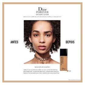 Base Dior Diorskin Forever Undercover 24H - 040 Honey Beige