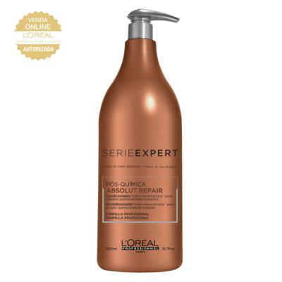 Imagem 4 do produto L'Oréal Professionnel Absolut Repair Pós-Química Kit - Shampoo 1,5L + Condicionador 1,5L - Kit