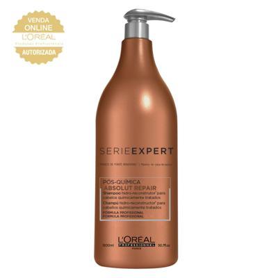 Imagem 3 do produto L'Oréal Professionnel Absolut Repair Pós-Química - Shampoo Multi-Reconstrutor - 1500ml