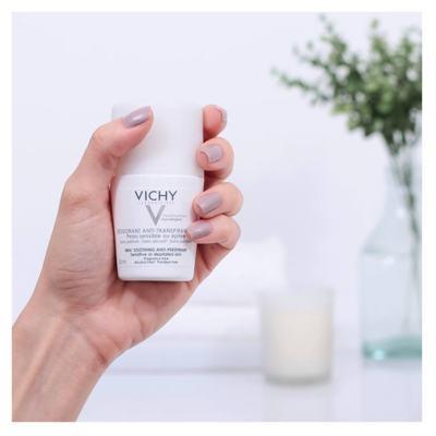 Imagem 4 do produto Desodorante 48H Vichy - Desodorante Roll-On para Peles Muito Sensíveis ou Depiladas - 50ml