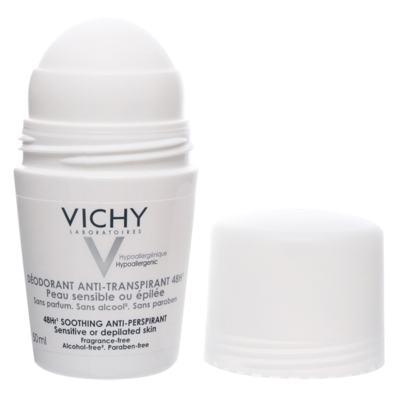 Imagem 5 do produto Desodorante 48H Vichy - Desodorante Roll-On para Peles Muito Sensíveis ou Depiladas - 50ml