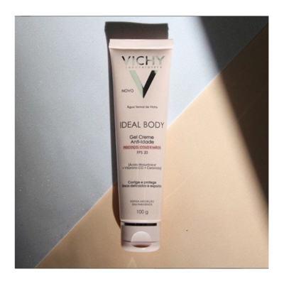 Imagem 11 do produto Vichy Ideal Body Gel Creme Antiidade FPS 20 - Vichy Ideal Body Gel Creme Antiidade FPS 20 100g