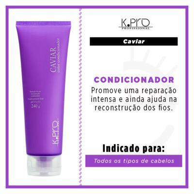 Imagem 3 do produto K-Pro Caviar Color - Condicionador - 240g