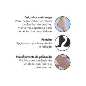 Meia 7/8 Sigvaris AF 862 Select Comfort Premium 20-30 mmHg Sem Ponteira - Natural   1 Par