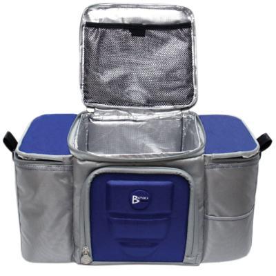 Imagem 3 do produto Bolsa Térmica para Alimentos 42x23x27 cm Batiki DZ-141580 Azul e Cinza