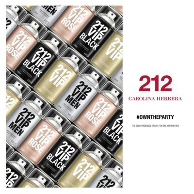 Imagem 4 do produto 212 Vip Men Black Carolina Herrera - Body Spray - 250ml