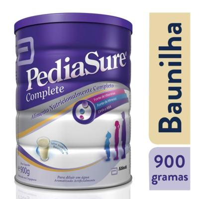 Imagem 6 do produto Suplemento Nutricional Infantil PediaSure - lata, baunilha, 900g -