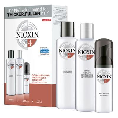 Imagem 5 do produto Kit Nioxin System 4 Shampoo 300ml + Condionador 300ml + Leave-in 100ml -