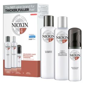 Kit Nioxin System 4 Shampoo 300ml + Condionador 300ml + Leave-in 100ml