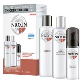 Kit Nioxin System 4 Shampoo 150ml + Condicionador 150ml + Leave-in 40ml