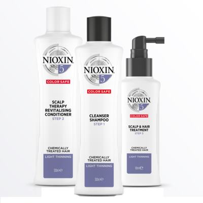 Nioxin Loyalty Kit Sistema 5 - Shampoo + Condicionador + Leave-in - Kit