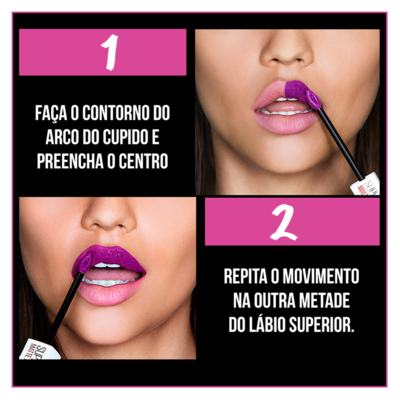 Imagem 6 do produto Batom Líquido Maybelline - Superstay Matte Ink - Amazonia