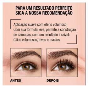 Máscara de Cílios Maybelline - Total Temptation Waterproof | 1 Unidade