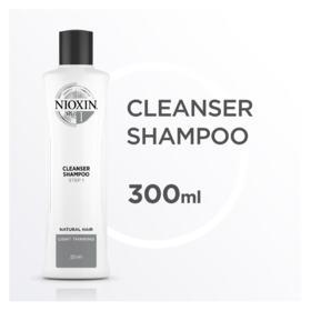 Nioxin Scalp Therapy Sistema 1 - Shampoo de Limpeza - 300ml