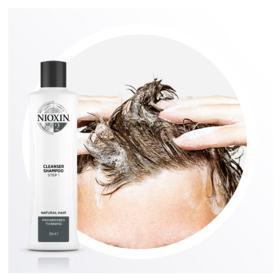 Nioxin Scalp Therapy Sistema 2 - Shampoo de Limpeza - 300ml
