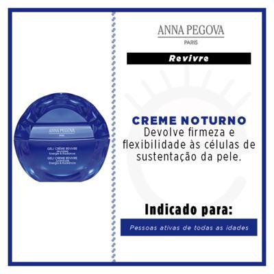 Imagem 2 do produto Gel Creme Anna Pegova - Revivre Anti-idade Noturno - 40ml