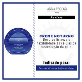 Gel Creme Anna Pegova - Revivre Anti-idade Noturno