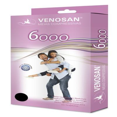 Imagem 1 do produto Meia Calça AT 30-40 mmHg 6000 Venosan - PONTEIRA ABERTA BEGE P