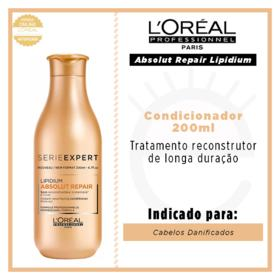 L'Oréal Professionnel Absolut Repair Cortex Lipidium - Condicionador Reconstrutor - 200ml