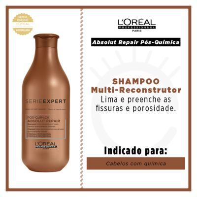 Imagem 2 do produto L'Oréal Professionnel Absolut Repair Pós-Química - Shampoo Multi-Reconstrutor - 300ml