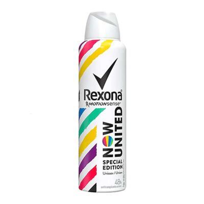 Imagem 1 do produto Desodorante Aerosol Rexona Now United Antitranspirante 48h 150ml