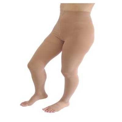 Imagem 10 do produto Meia Calça At 20-30 Comfortline Venosan - Ponteira Aberta Longa Bege P