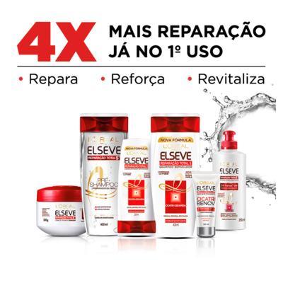 Imagem 4 do produto Elseve Reparação Total 5+ L'Oréal Paris - Kit De Shampoo 400 ml+ Condicionador 400ml - Kit