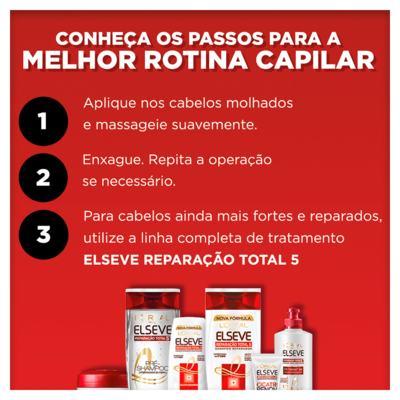 Imagem 5 do produto Elseve Reparação Total 5+ L'Oréal Paris - Kit De Shampoo 400 ml+ Condicionador 400ml - Kit