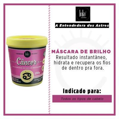 Imagem 2 do produto Lola Cosmetics A Entendedora dos Astros Câncer - Máscara de Hidratação Universal - 230g
