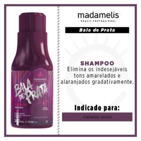 Madamelis Bala de Prata - Shampoo Matizador