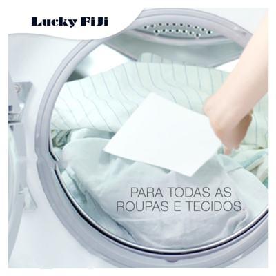 Imagem 4 do produto Detergente Lava Roupa em Folha - Lucky Fiji - 45 Un